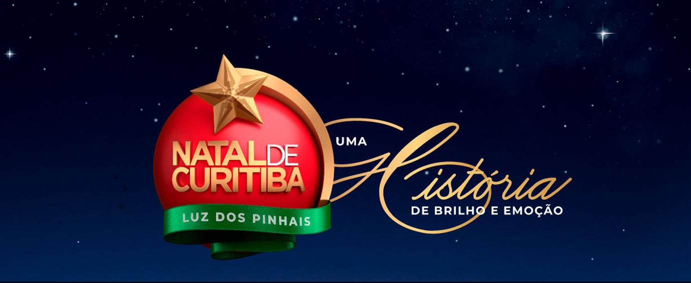 Banner Natal de Curitiba - Luz dos Pinhais 2019