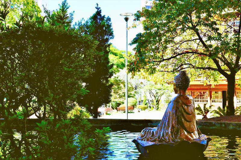 Praça do Japão - Curitiba - Paraná -Brasil. Crédito: Valéria Rolim/CTUR 2019