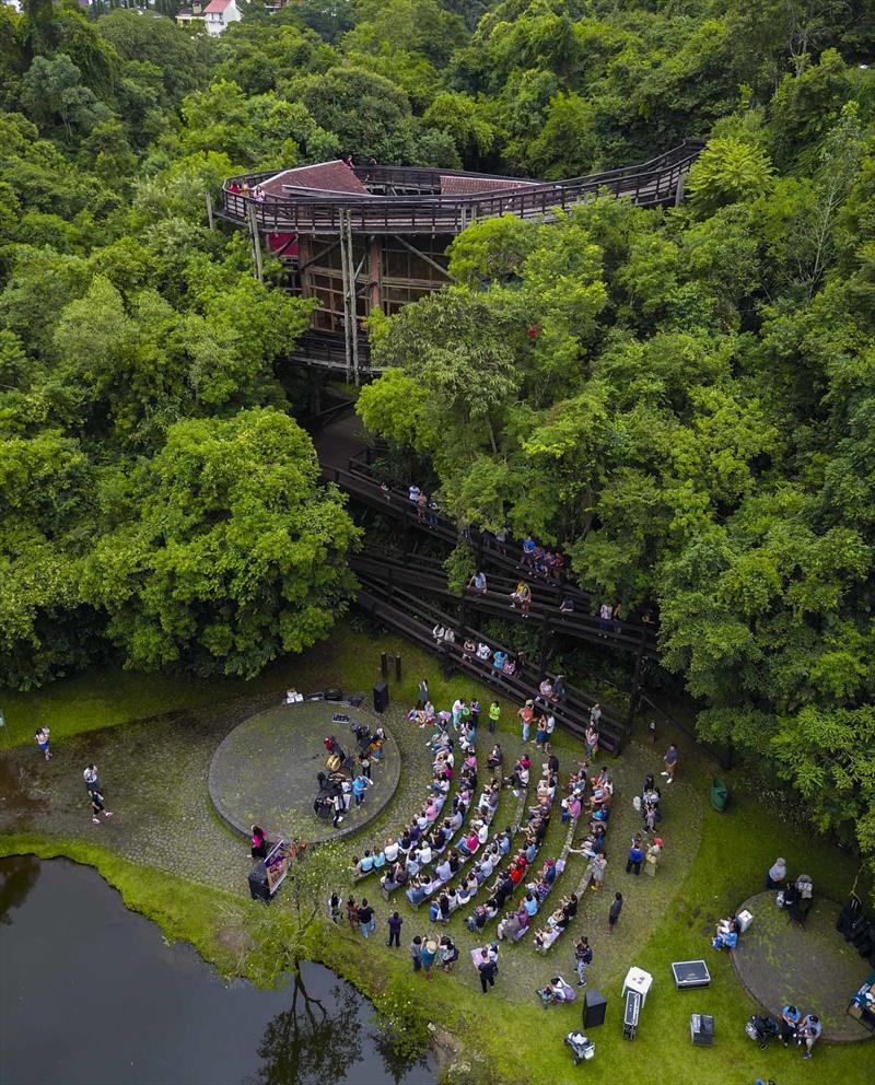 Bosque Zaninelli/ Universidade Livre do Meio Ambiente Unilivre. Foto: Daniel Castellano/SMCS - Todas as imagens devem ser obrigatoriamente creditadas.
