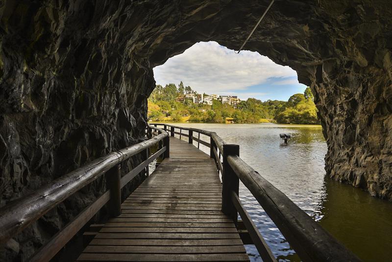 Tunel no Parque Tanguá. Foto: Daniel Castellano/SMCS - Todas as imagens devem ser obrigatoriamente creditadas.