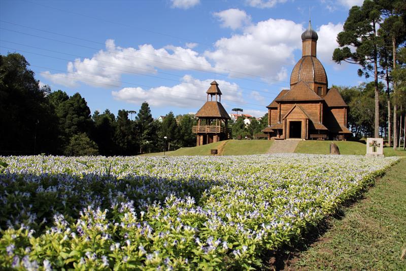 Memorial Ucraniano, no Parque Tingui. Foto: Lucilia Guimarães/SMCS - Todas as imagens devem ser obrigatoriamente creditadas.