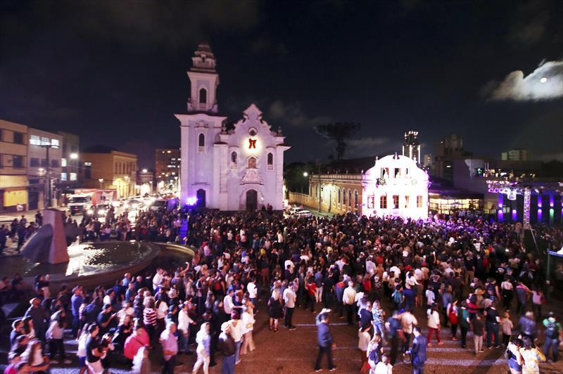 Natal de Curitiba - Luz dos Pinhais. Foto: Lucilia Guimarães/SMCS - Todas as imagens devem ser obrigatoriamente creditadas.