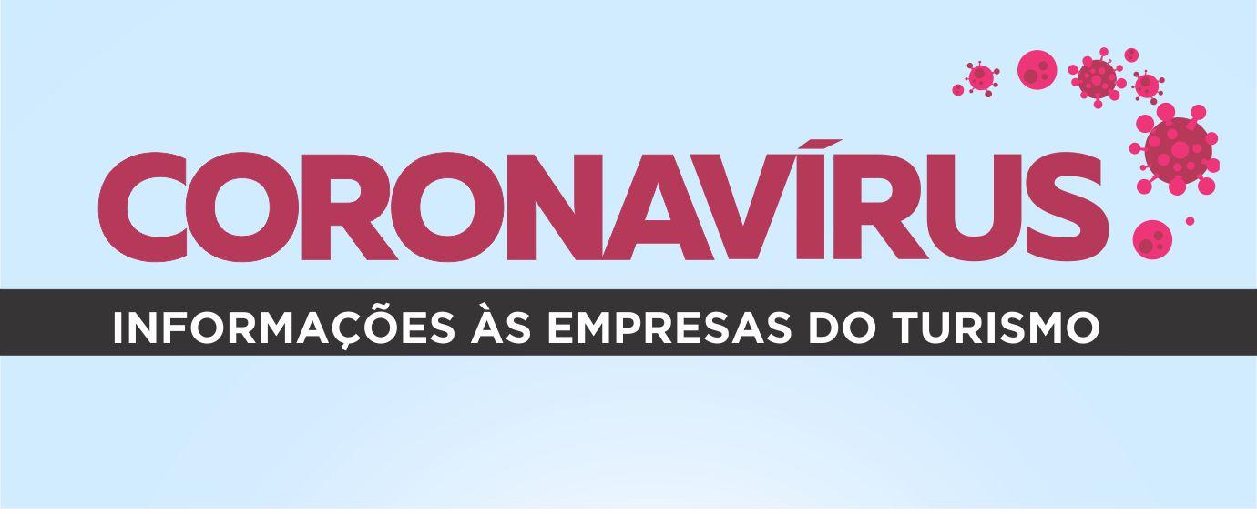 Banner Informações às Empresas do Turismo Coronaví