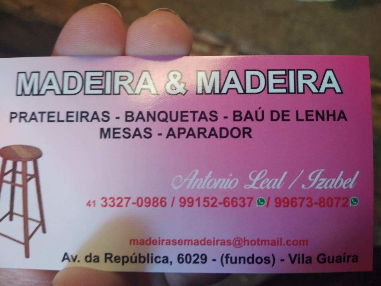 Logotipo - Antonio Leal (Madeira e Madeira)