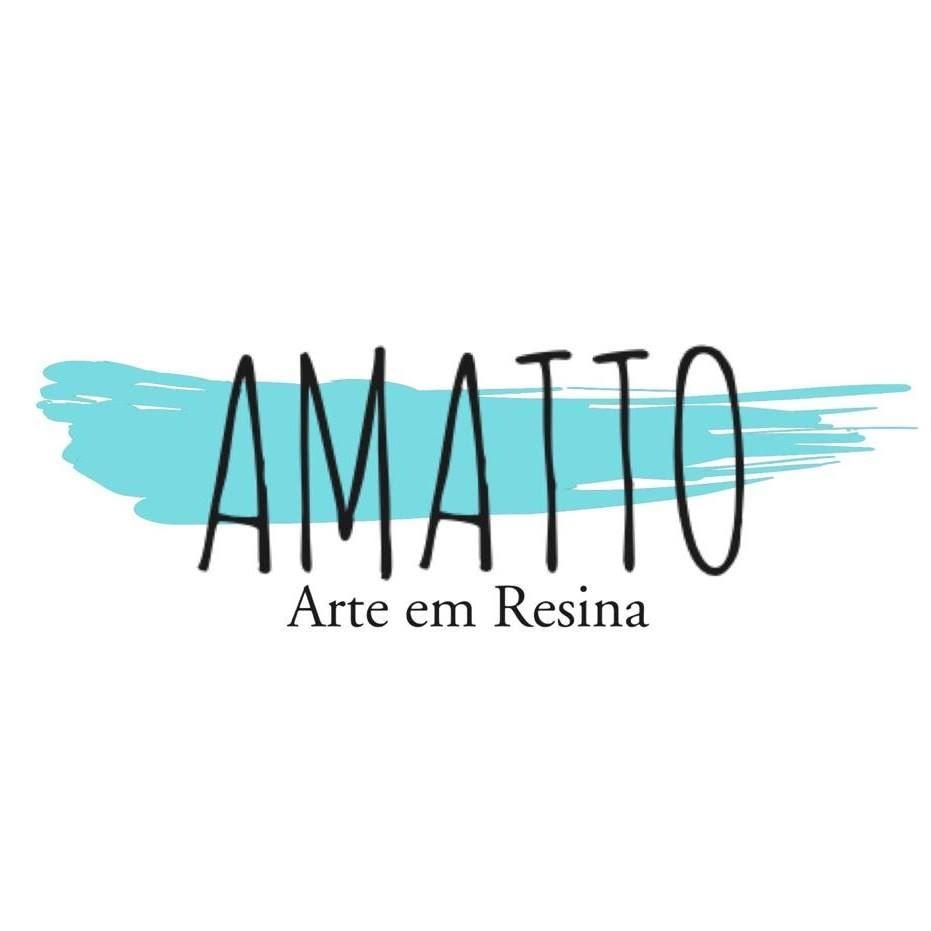 Logotipo - AMATTO Arte em Resina