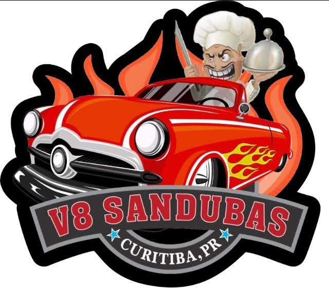 Logotipo - V8 sandubas