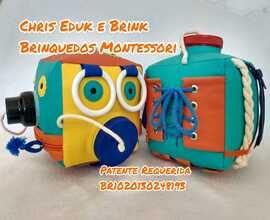 Logotipo - Chris Eduk e Brink Brinquedos Montessori