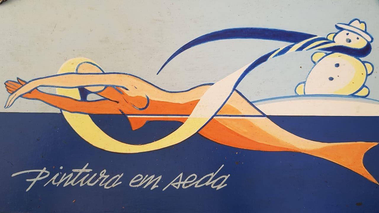 Logotipo - Pinturas em seda