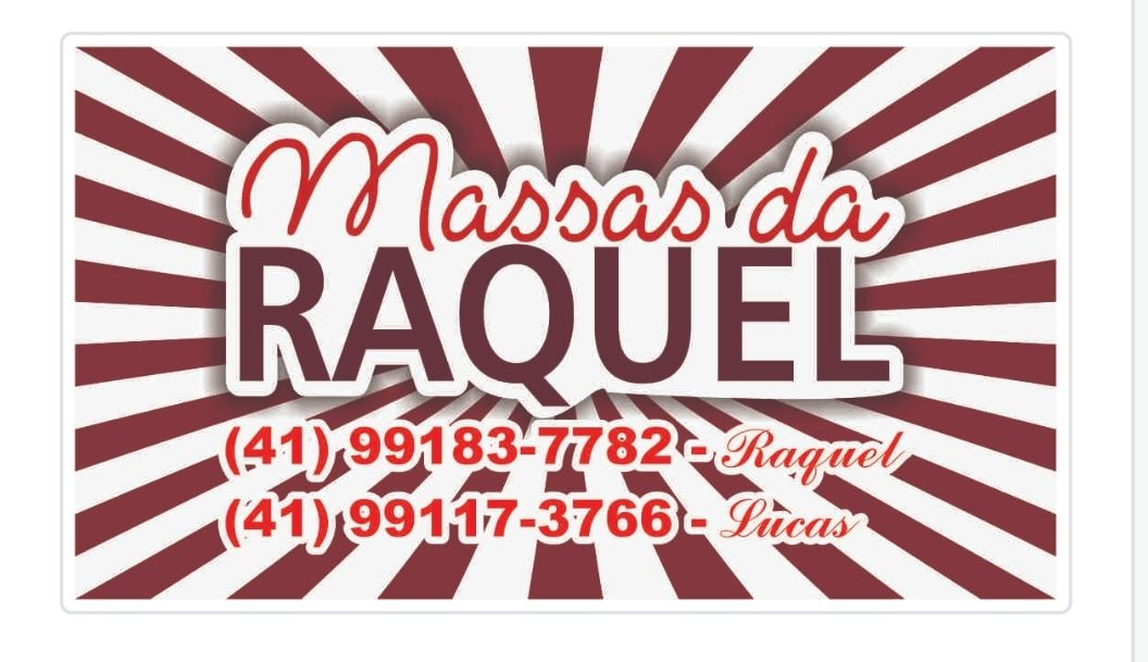 Logotipo - Massas da Raquel