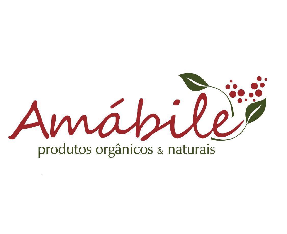 Logotipo - Amábile Orgânicos - Gabriel Konzen